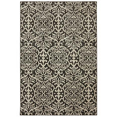 American Rug Craftsman Symphony Collection - Watson Scroll Walnut