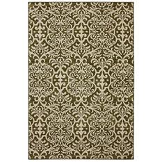 American Rug Craftsman Symphony Collection - Watson Scroll Khaki