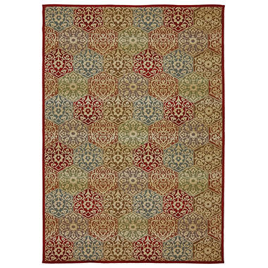 Venice Tile Multi Outdoor Area Rug Sam s Club