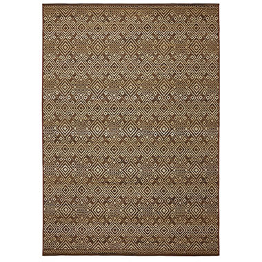 Yucatan Mocha Outdoor Area Rug Sam s Club