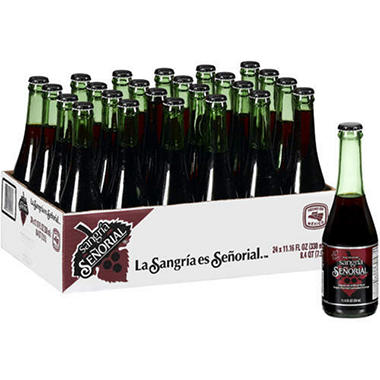 Sangria Senorial (11.16 oz. glass bottles, 24 pk.)