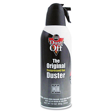 Falcon Dust-Off - XL Safety Compressed Gas Duster, 10 oz - 1 Pack