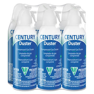 Century Duster Disposable Compressed Gas Duster - 10 oz. -  6 pk.
