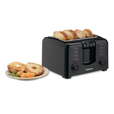 Cuisinart Compact  Dual-Zone 4-Slice Toaster