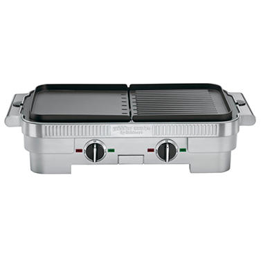 Cuisinart Griddler Stainless Steel Nonstick Grill/Griddle Combo