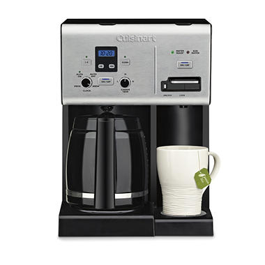 Cuisinart Coffee Plus 12-Cup Programmable Coffeemaker and Hot Water System