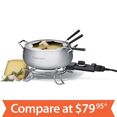 Cuisinart Electric Fondue Set CFO-100