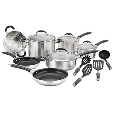 Cuisinart® Classic Stainless Cookware Set - 15 pcs.