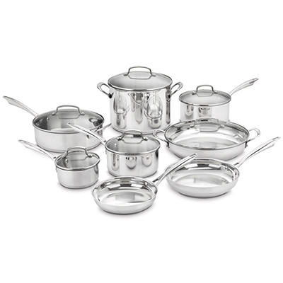 Cuisinart Classic Stainless Cookware Set - 14 pc.