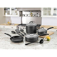 Cuisinart 11-Piece Dishwasher Safe Non-Stick Hard Anodized Cookware Set