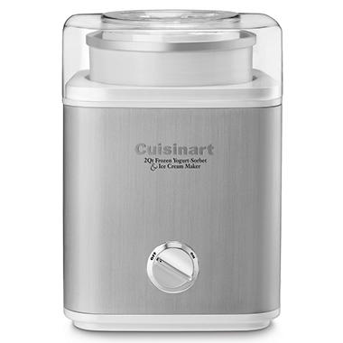 Cuisinart Pure Indulgence 2 Qt. Frozen Yogurt-Sorbet & Ice Cream Maker - Various Colors