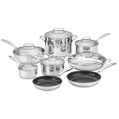 Cuisinart 14 Pc. Stainless Steel Cookware Set