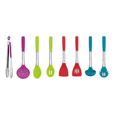 Cuisinart 8-Piece Silicone Kitchen Utensil Set