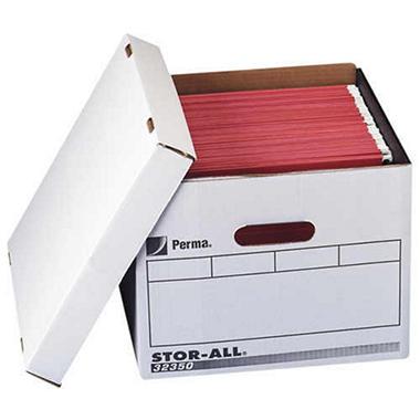 Perma Hanging File Folder Storage Boxes