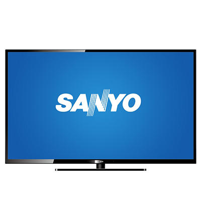 "58"" Sanyo LED 1080p 120Hz HDTV with Roku Streaming Stick"