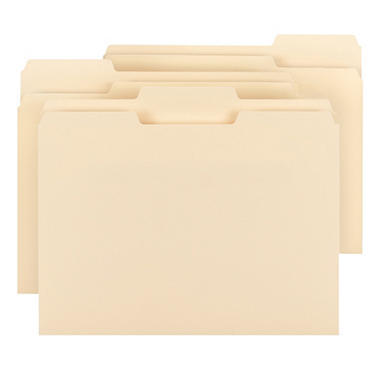 Smead - Letter Size File Folders - 150 Pack