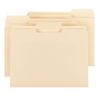 Smead 1/3 Tab File Folders, Manila, (Letter, 150 ct.)