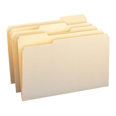 Smead - File Folders - 1/3 Cut Manila, Legal Size - 150 Pack