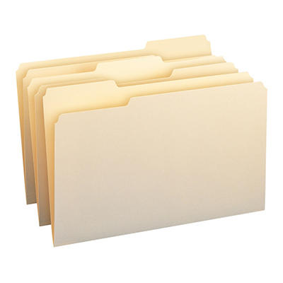 Smead 1/3 Tab File Folders, Manila, (Legal, 150 ct.)