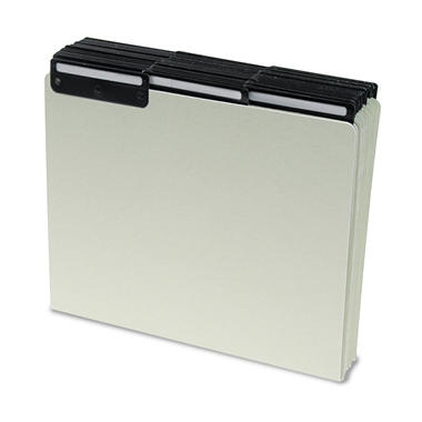 Letter-Sized File Guides w/ 1/3 Blank Metal Tabs