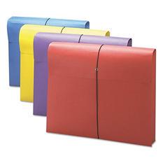 """Smead® 2"""" Exp Antimicrobial File Wallet, Letter, Four Colors, 4pk."""