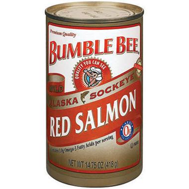 Bumble Bee Alaska Red Salmon - 2/ 14.75 oz. cans