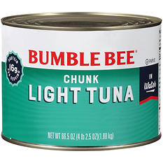 bumble bee chunk light tuna in water 66 5 oz. Black Bedroom Furniture Sets. Home Design Ideas