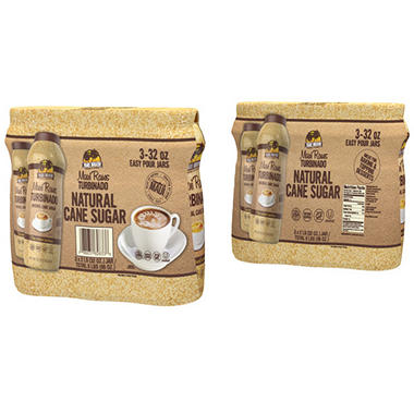 Maui Raws Turbinado Sugar (32 oz. ea., 3 pk.)