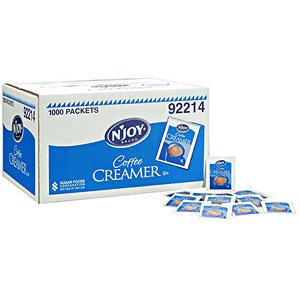 N'JOY - Non-Dairy Powdered Creamer Packets - 1,000 Count
