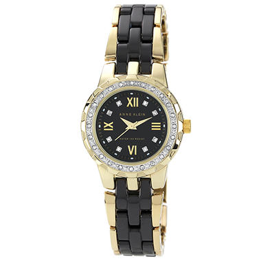 Anne Klein Ladies Black Ceramic Watch