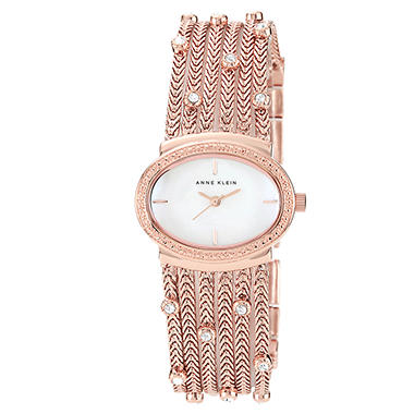 Anne Klein Ladies Multi-Chain Strand Watch