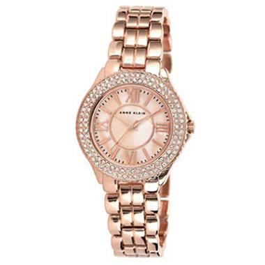Anne Klein Rose Gold Bracelet Watch