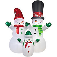 Member's Mark Airblown Inflatable Colossal Snowman Family