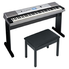 Yamaha 88 Key Full Size Keyboard w/ Bench
