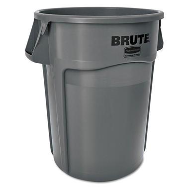 Rubbermaid Brute Trash Can - Gray - 55 gal.