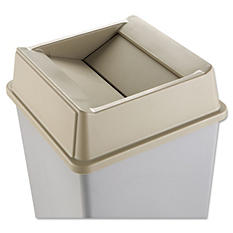 Rubbermaid® Untouchable Beige Square Top