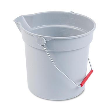 BRUTE® Gray Brute® Bucket - 10 qt.