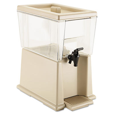 Rubbermaid Commercial Beverage Dispenser, Polycarbonate, Clear (3 gal.)