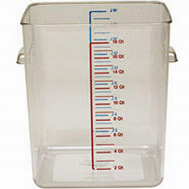 Square Storage Container - 22 qt.