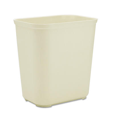 Rubbermaid Fire-Resistant Trash Can - Beige - 7 gal.