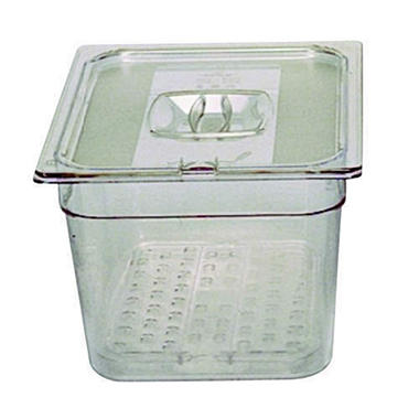 Rubbermaid� Cold Food Pan - 1/6 Size - 2.5 qt.