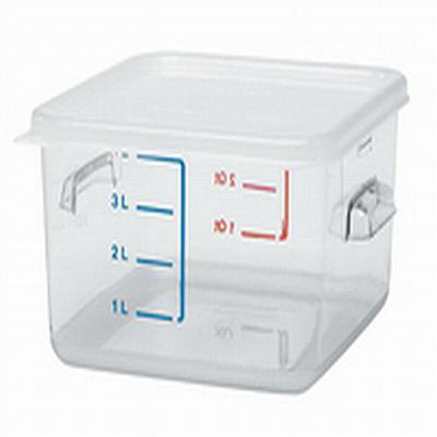 Rubbermaid Square Storage Container - 4 qt./2 pk.