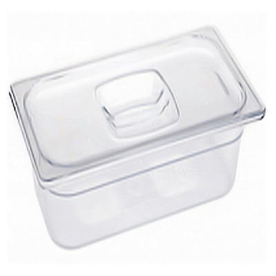 "Rubbermaid 1/3 Size Cold Food Pans with Lids  2-6"" W/LIDS"