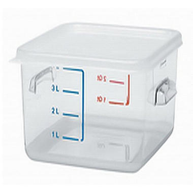 Rubbermaid Square Storage Container - 4 qt./2 pk.