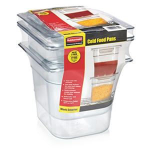 Rubbermaid 1/6 Cold Food Pan (2pk.)