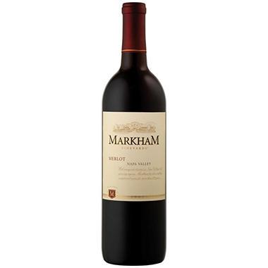 +MARKHAM MERLOT 750ML