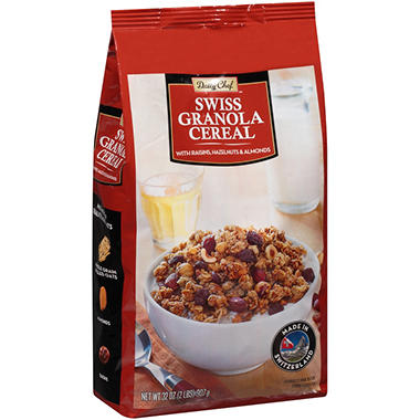 Daily Chef Granola Cereal Swiss Granola Cereal - 32 oz.