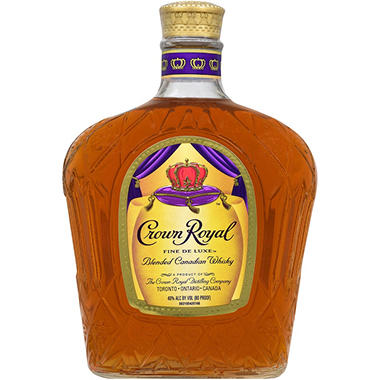 Crown Royal Canadian Blended Whisky (750 ml)