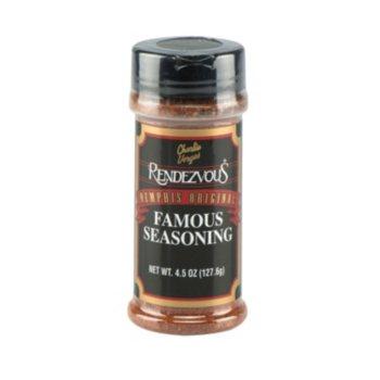 12Pk Rendezvous Famous Dry Rub Seasoning