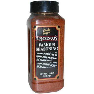 Rendezvous ® Famous Seasoning 16oz